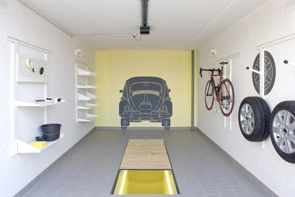 Ausstattung einer Garage