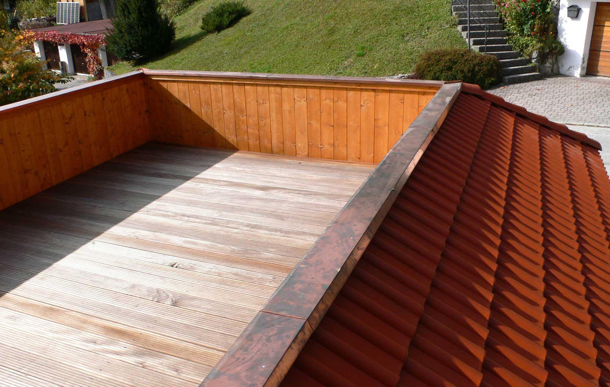 Ausstattung mit Dachterrasse