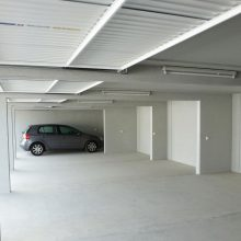 Vierfachgarage innen